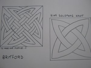 Britford 2 - King Solomon's knot