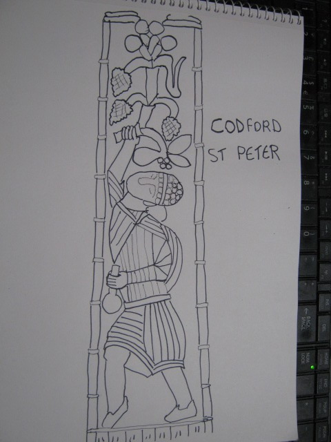 Codford St Peter - Anglo Saxon Art in Wiltshire