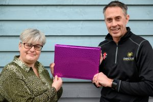 Ainslie's Pavilion Edges Closer - Fiona  Scott with Phil Duffell