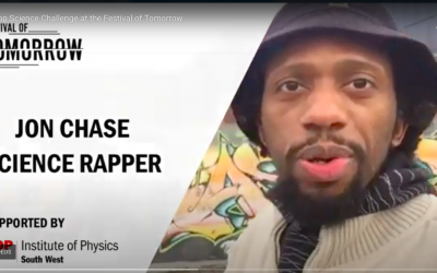 Rapper launches Festival of Tomorrow Challenge