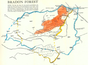 Thomson's braydon forest map