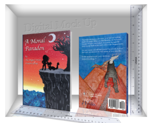 Swindon's Young on Literary Success Quest - digital mock-up of A Moral Paradox