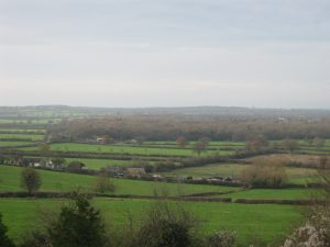 The Great Forest of Braydon - view from Pavenhill in Purton.