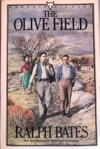 Front cover of Hogarth edition of the The Olive Field