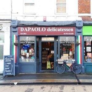 Shop Small and Shop Local - DaPaolo deli in Swindon