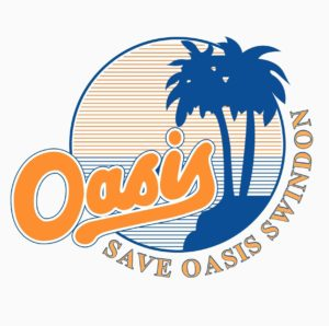 Important Development for SOS Campaign  - graphic of Oasis with palm tree