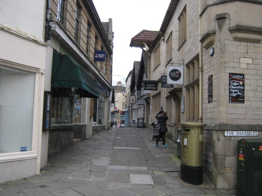 The shambles in Bradford upon Avon