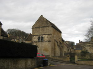 St Laurence' Church Bradford upon Avon - looking towards the east.