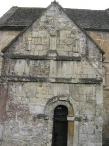 St Laurence' Church Bradford upon Avon - pilasters