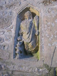 Tockenheim carving - St Laurence's church at Bradford upon Avon