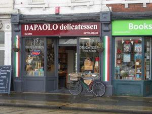 A Commercial Rd Photo Essay - Da Paolo Italian deli in Swindon