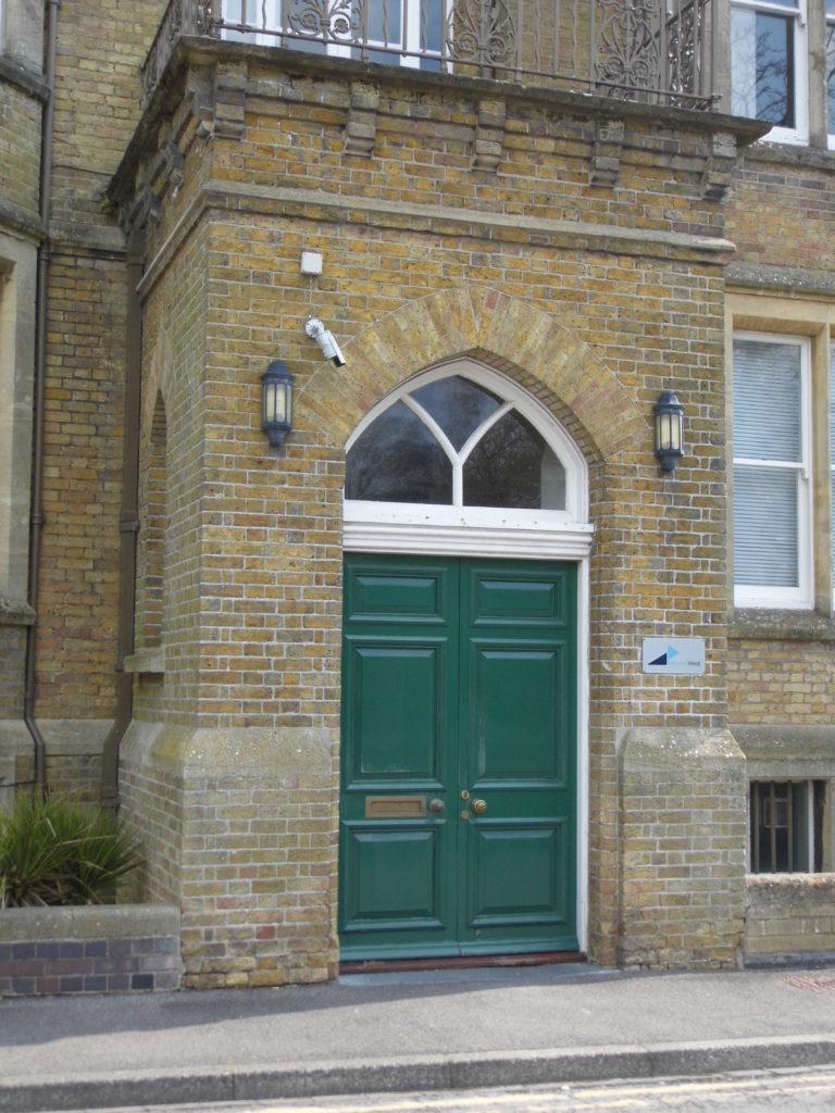 Door of park house swindon