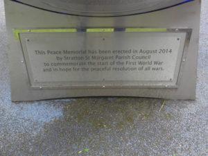 Stratton Peace Memorial Swindon