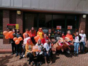 Platform Project goes Orange for Kit Tarka - Kit Tarka group shot