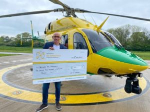 24-7 Donation to Wilts Air Ambulance - Julian, MD of 24/7 staffing recruitment