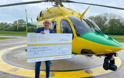 24-7 Donation to Wilts Air Ambulance