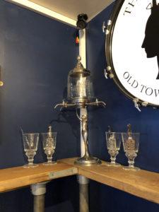 Absinthe - La fée Verte - absinthe fountain in the Tuppeny Swindon
