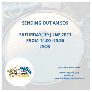 A Swindon Oasis SOS - graphic