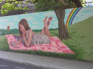 Swindon's Street Art and Murals - princes street swindon mural