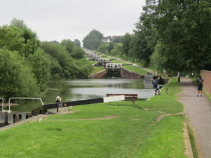 A Kennet and Avon Canal Journey - Caen hill locks