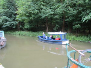 Small boat for a trip on the K&A canal