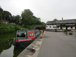 The Kennet and Avon canal museum and canal boat