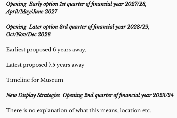 Swindon Museum and Art Gallery Closure - screen shot from a report