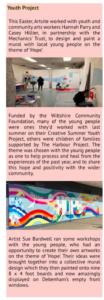 Extract from Artsite newsletter