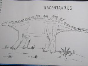 Unmemorable Dinosaura of Wiltshire - dacentrurus