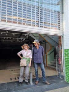 New Swindon Community Hub - Helen Holly and Jol Rose