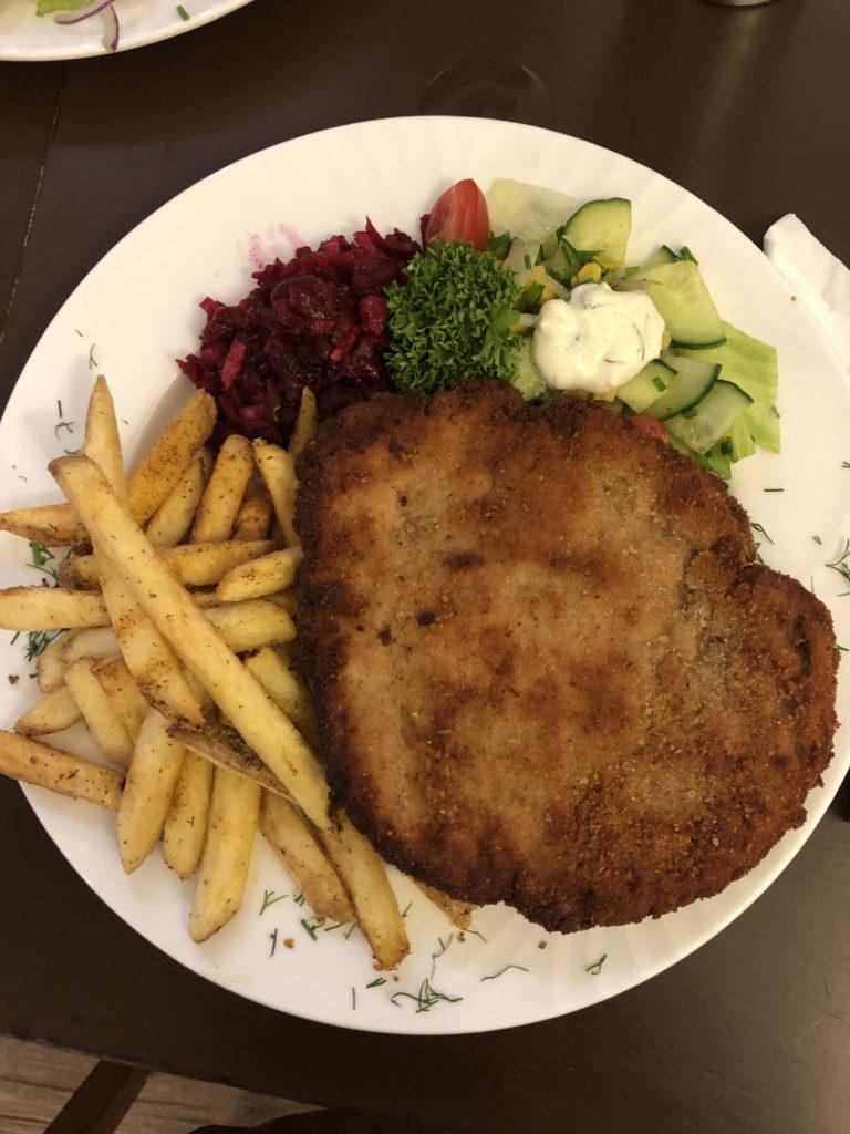 Schnitzel at Do Syta Swindon