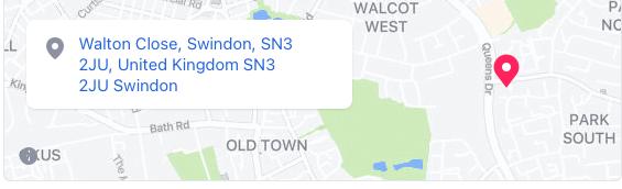 Location of Do Syta Swindon