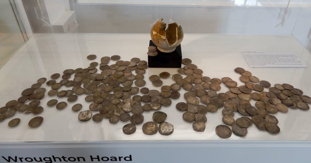Hoard-of-219-silver-coins-buried-in-Wroughton-during-the-early-years-of-the-English-Civil-War-AD-1642-AD-1651.-They-range-in-date-from-the-reigns-of-Edward-VI-to-Charles-I.