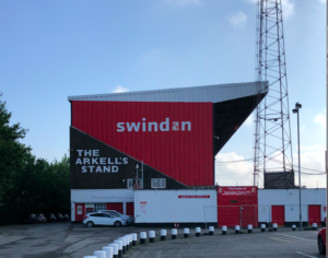 New owner for STFC - the Arkell's stand at the county ground
